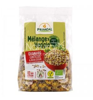 MELANGE VEGGIE CHANVRE LENTILLES BOULGOUR - 300 GR