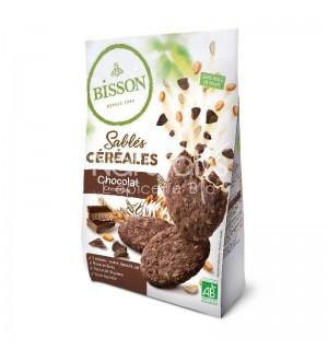 SABLES CEREALES CHOCOLAT - 200 GR