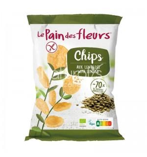 PAIN DES FLEURS CHIPS LENTILLES - 50 GR