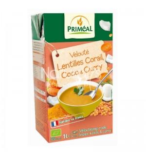 VELOUTE LENTILLES CORAIL COCO ET CURRY - 1 L