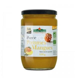 PUREE POMMES MANGUES SANS SUCRES AJOUTE - 630 GR