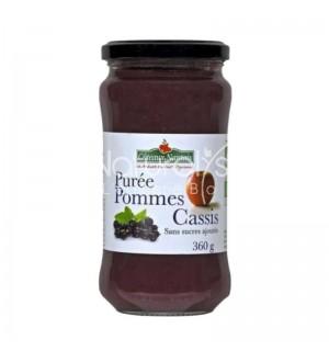 PUREE POMMES CASSIS SANS SUCRE AJOUTE- 360 GR