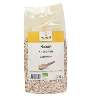 FLOCONS 5 CEREALES - 500 GR