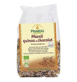 MUESLI QUINOA-CHOCOLAT - 350 GR