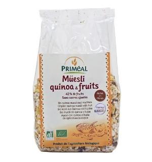 MUESLI QUINOA ET FRUITS  - 350 GR