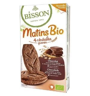 MATINS BIO 4 CEREALES CHOCOLAT - 200 GR