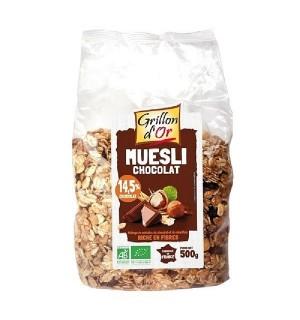 MUESLI CHOCOLAT NOISETTE - 500 GR