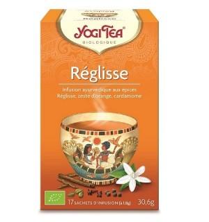YOGI TEA REGLISSE - 17 X 1.8 GR