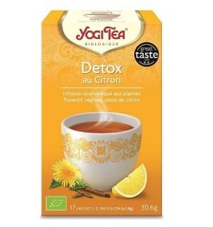 YOGI TEA DETOX - 17  X 1.8 GR