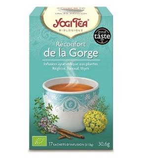YOGI TEA RECONFORT DE LA GORGE - 17  X 1.8 GR