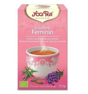 YOGI TEA EQUILIBRE FEMININ - 17  X 1.8 GR