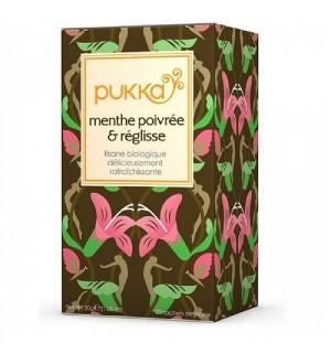PUKKA MENTHE POIVREE & REGLISSE - 20 X 1.5 GR