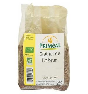GRAINES DE LIN BRUN - 250 GR