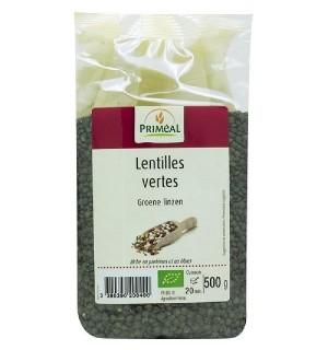 LENTILLES VERTES - 500 GR