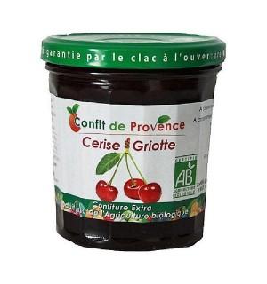 CONFITURE CERISE - GRIOTTE - 370 GR