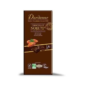 CHOCOLAT NOIR 70 % SANS GLUTEN - 100 GR