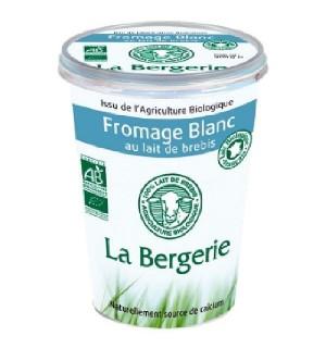 FROMAGE BLANC AU LAIT DE BREBIS - 400 GR