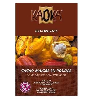 CACAO MAIGRE 10-12% EN POUDRE - 250 GR