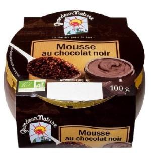 MOUSSE AU CHOCOLAT NOIR - 100 GR
