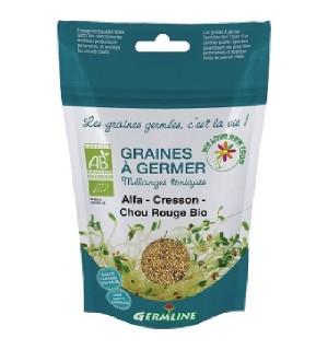 GRAINES A GERMER ALFA CRESSON CHOU ROUGE - 150 GR
