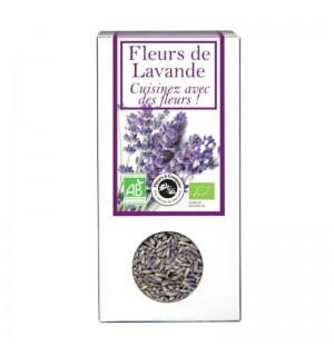 FLEURS A CROQUER FLEURS DE LAVANDE - 40 GR