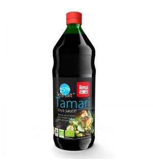 SAUCE TAMARI - 25% DE SEL - 1 LITRE