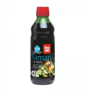 SAUCE TAMARI - 25% DE SEL - 0.25  L