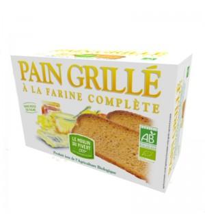 PAIN GRILLE A LA FARINE COMPLETE- 250 GR