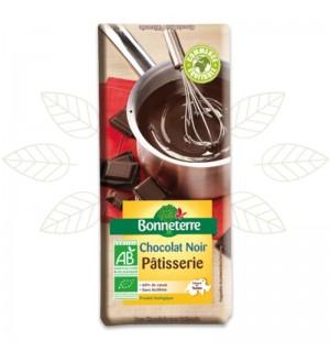 TABLETTE CHOCOLAT NOIR PATISSERIE 60% - 200 GR