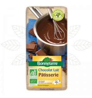 TABLETTE CHOCOLAT AU LAIT PATISSERIE 40% - 200 GR