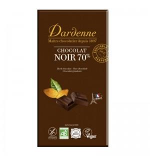 CHOCOLAT NOIR 70 % - 180 GR