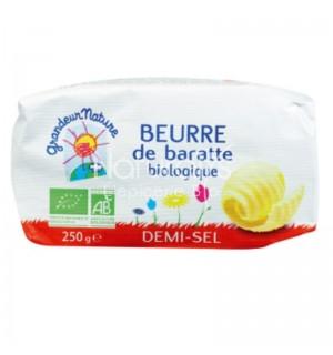 BEURRE BARATTE MOULE 1/2 SEL -  250 GR