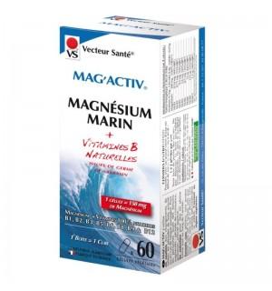 MAG ACTIV MAGNESIUM MARIN - 60 GELULES