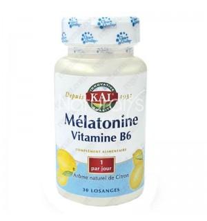 MELATONINE 1.9 MG + VITAMINES B6 - 60 LOSANGES SUBLINGAUX