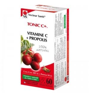 TONIC C (VITAMINE C + PROPOLIS) - 60 GELULES