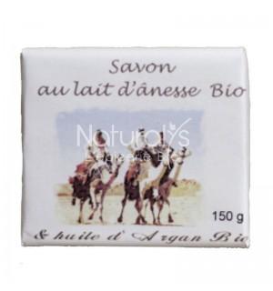 SAVON AU LAIT D'ANESSE ET HUILE D'ARGAN - 150 GR