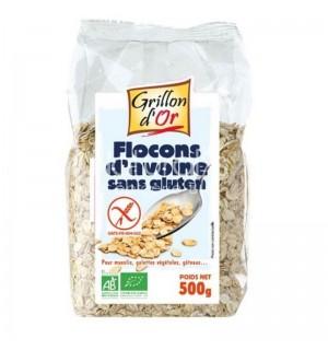 FLOCONS D'AVOINE SANS GLUTEN - 500 GR