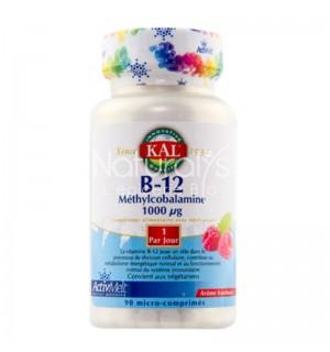 B12 METHYLCOBALAMINE 1000 UG - 90 MICRO COMPRIMES