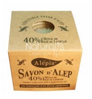 SAVON ALEP 40 % LAURIER - 190 GR