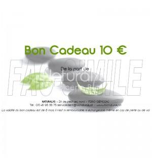 BON CADEAUX A OFFRIR DE 10 €
